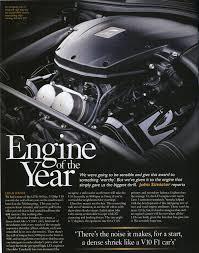 lexus isf v10 evo engine of the year the lexus lfa v10 lexus enthusiast
