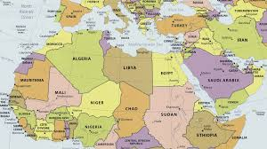 middle east map medina n africa mid east pol 2009 arabia the gulf and the gcc