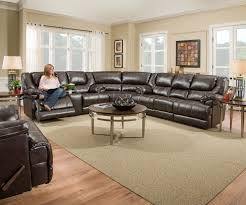 Reclining Sectional Sofas by Bingo Brown Reclining Sectional Sofa Sets By Simmons
