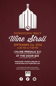 sip and shop invitation downtown tracy wine stroll tickets sat sep 24 2016 at 6 00 pm