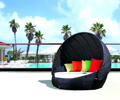 quest canopy outdoor patio daybed rattan outdoor daybed with