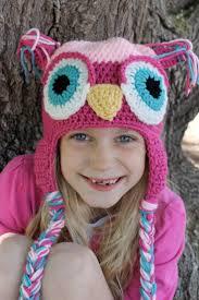 229 best crochet owl hats images on pinterest knit crochet