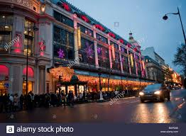 paris france christmas decor le printemps department store