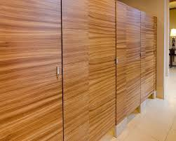 Toilet Partition Ironwood Manufacturing Wood Veneer Restroom Partition