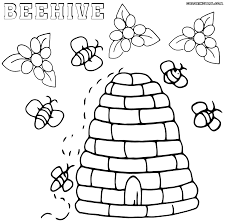 bee coloring pages coloring pages download print