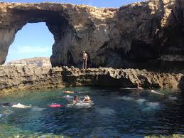 around the world the azure window u0026 the blue hole gozo island