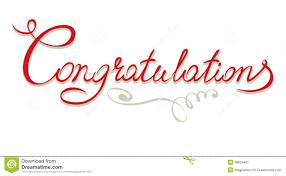 Wedding Congratulations Banner Title Congratulations Stock Vector Image 38925461