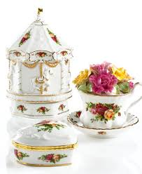 country roses tea set royal albert country roses gifts collection china macy s