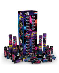 Purple Canister Set Kit by Red Apple Fireworks