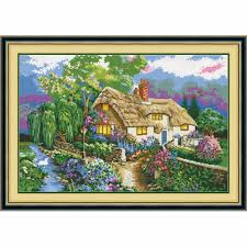 Country Cottage Cross Stitch Compare Prices On Country Cottage Online Shopping Buy Low Price