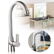 modern chrome plated bathroom basin sink mixer tap single handle