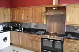 modern kitchen backsplash tile stainless steel backsplashes for modern kitchen image of ideas