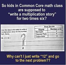 Common Core Meme - commoncore math problem that is really an ela exercise missouri