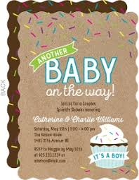co ed baby showers couples baby shower invitations coed baby shower invitations