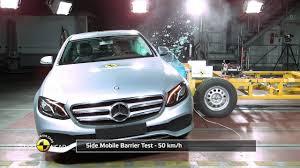 of mercedes ncap crash test of mercedes e class