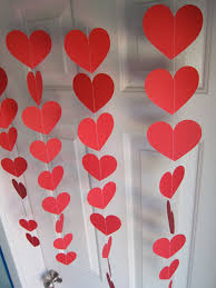 Decoration For Valentine S Day by Valentine U0027s Day Decorations Red Hearts Love Party Decorations
