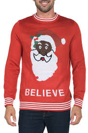 santa sweater black santa sweater tipsy elves