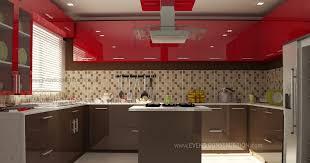 modern kitchen design kerala modern kitchen interior evens construction pvt ltd