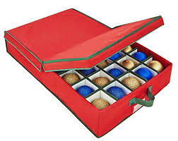 ornament storage boxes ornament storage