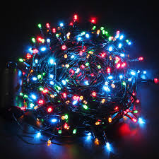 8 function multi color led christmas lights 40m 300 led string lights multi color battery fairy starry light 8