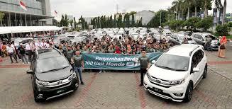mobil honda brv mobil baru hsc serahkan 100 unit honda br v otomotifzone
