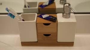 Bamboo Bathroom Cabinet Bathroom Wallpaper High Definition Ragrund Towel Rack Chair