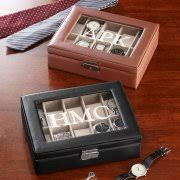 Personalized Wooden Boxes Monogram Engraved Wooden Valet Keepsake Box Walmart Com