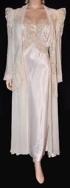 peignoir sets bridal boudoir bridal 1940s nos peignoir negligee now i