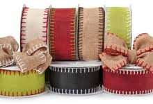 burlap ribbon wholesale fabric loops and twine ribbons