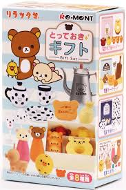 Food Gift Boxes Rilakkuma Coffee U0026 Food Gift Set Re Ment Miniature Blind Box Re