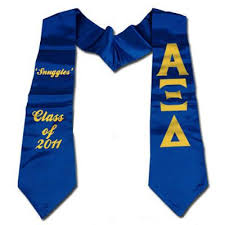 custom graduation sashes custom printed graduation stole cad something