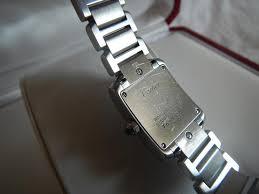 stainless steel cartier bracelet images Cartier stainless steel tank francaise bracelet small watch tradesy jpg