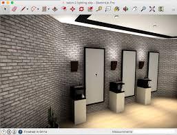 salon mirrors with lights lightup part 2 salon lighting