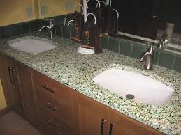 Undercounter Bathroom Sink Double Undermount Bathroom Sink Grey Trough And Steel Faucet Over
