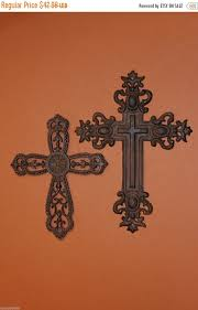Religious Home Decor On Sale 2 Pcs Religious Home Decor Large Cast Iron Crosses Up To