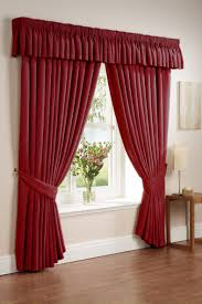 windows red valances for windows designs striped window treatment