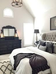 black bed room black white and gray master bedroom boatylicious org