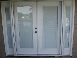 Vinyl Patio Doors With Blinds Between The Glass Door Blinds Between Glass Custom French Doors W Interior Blinds