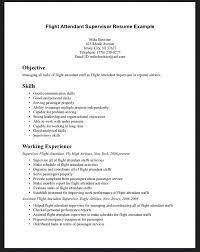 cover letter for resume flight attendant professional resumes