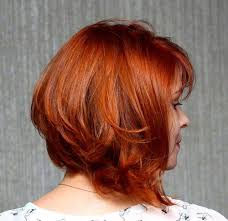 red brown long angled bobs 35 mesmerizing short red hairstyles for true redheads layered