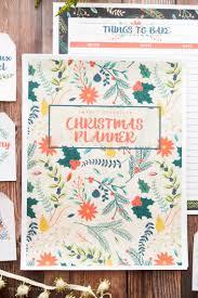 2017 christmas planner organize the holiday season