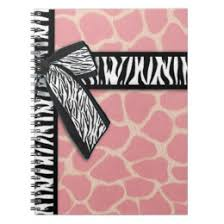 giraffe pattern notebook pink giraffe print notebooks journals zazzle