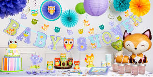 woodland creatures baby shower decorations woodland baby shower party supplies party city