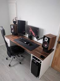Custom Gaming Desks Got A New Desk Bestgamesetups Pinterest Desks Gaming