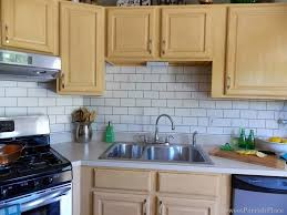 Design Your Own Backsplash by Painted Subway Tile Backsplash Remodelaholic