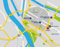 Frankfurt Airport Map Maps U0026 Transportation Hotel Mannheim Book Hotels Mannheim Maritim