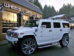 lexus truck on 26s hummer h2 is one strong truck for jumps and stunts
