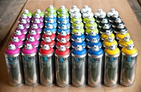 art primo flame blue 60 can crew pack paint packs