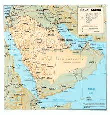 arabia map saudi arabia maps perry castañeda map collection ut library
