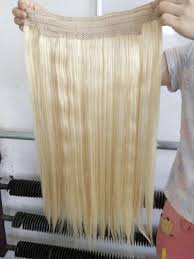 Can You Dye Halo Hair Extensions by Double Drawn Indian Remy Hair No Clips Halo Flip In Hair